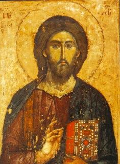 Christ , Mt.Athos, 13th century